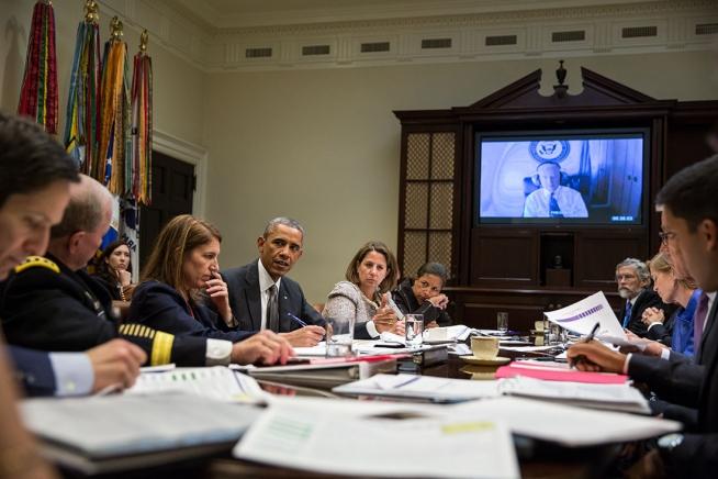 White House meeting on Ebola