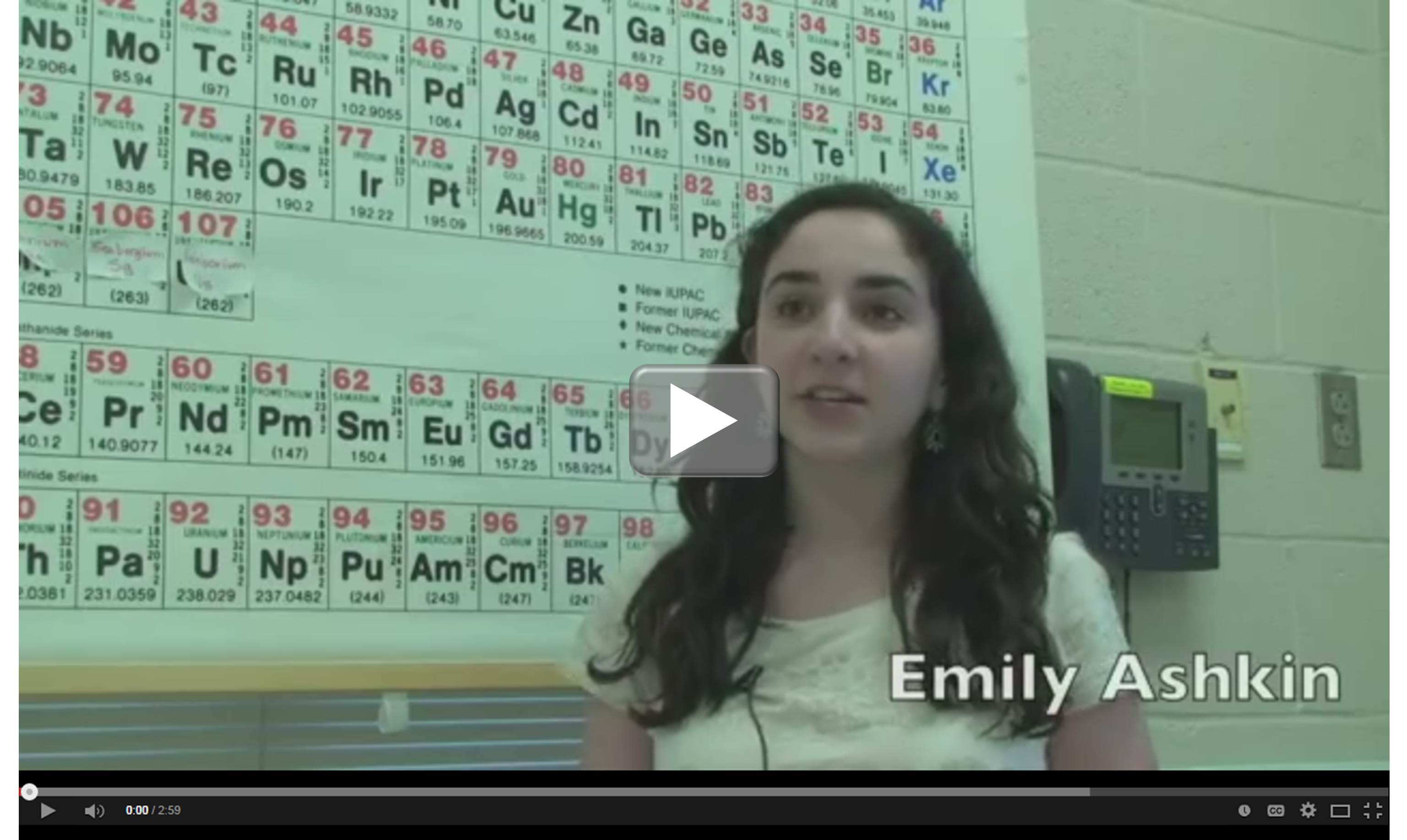 Emily Ashkin Video