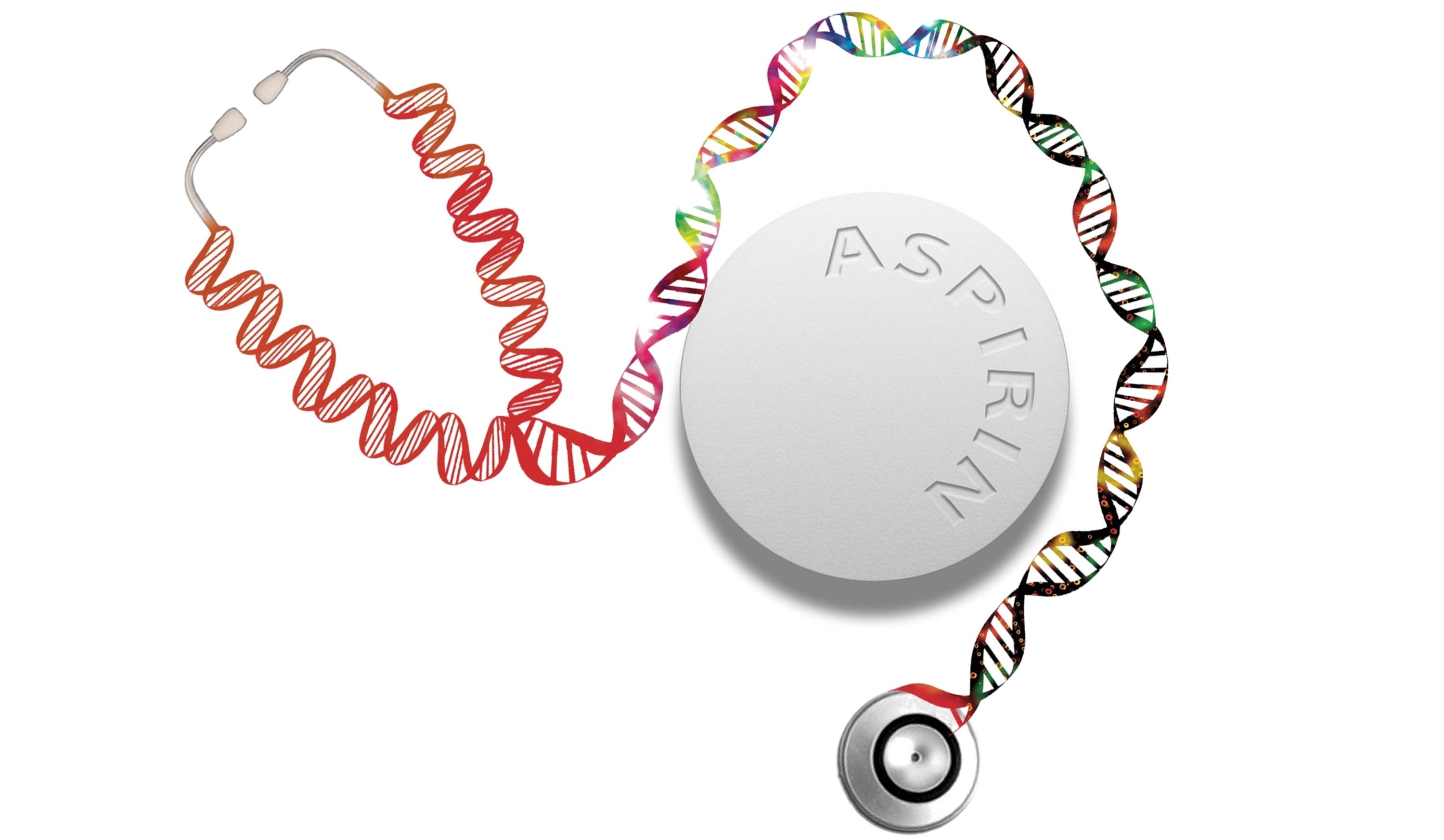 Aspirin and DNA Stethoscope