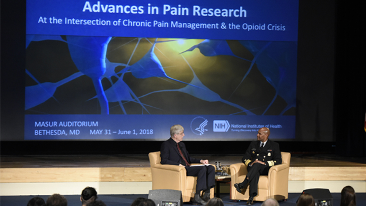 Francis Collins and Surgeon General Adams