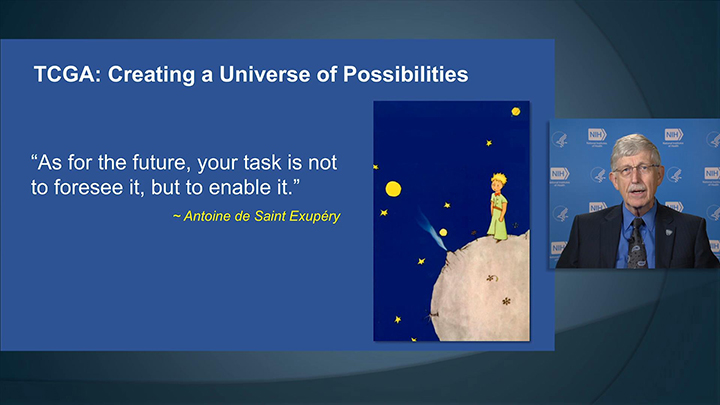 A Slide from Francis Collins' TCGA Speech