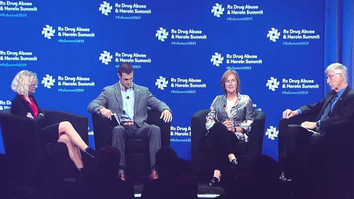 Dr. Collins taking part in panel discussion of HEALing Communities Study