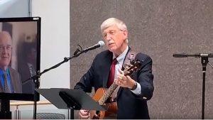 Francis Collins Singing