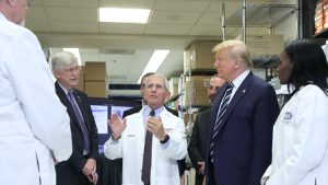 Presidential Visit to Vaccine Research Center