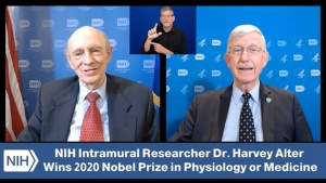 Discussion with Dr. Harvey Alter