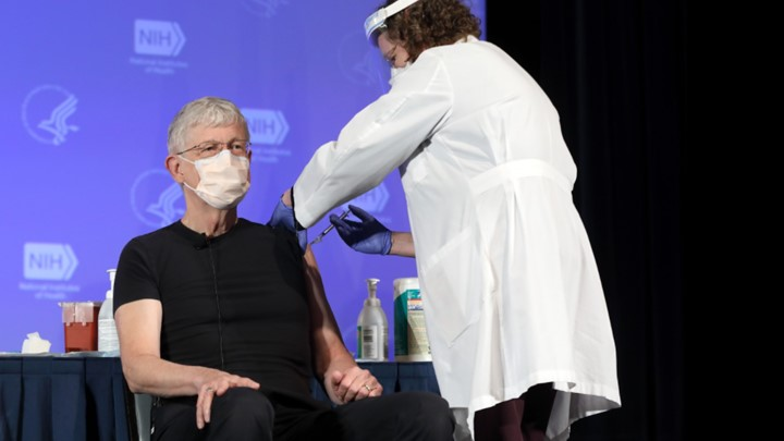 Francis Collins Vaccination